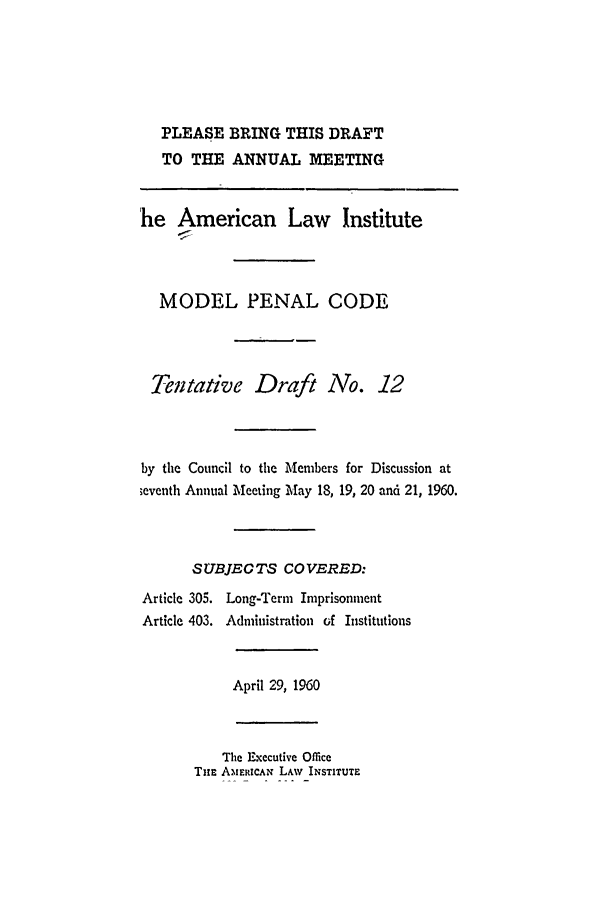 handle is hein.ali/mpc0640 and id is 1 raw text is: PLEASE BRING THIS DRAFT