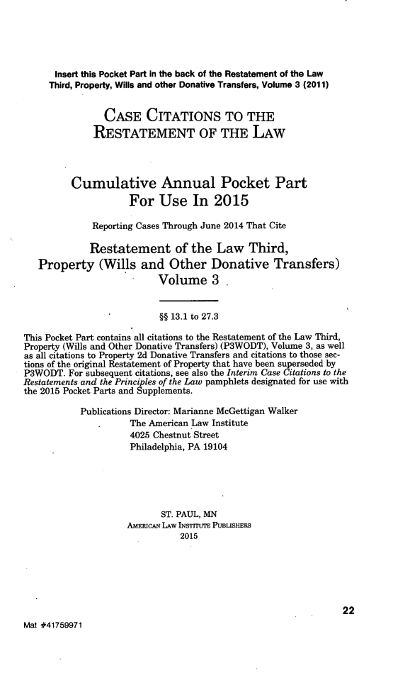 handle is hein.ali/retpwodt0039 and id is 1 raw text is: 