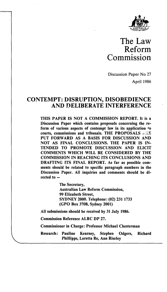 handle is hein.alrc/cntmpd0001 and id is 1 raw text is: j   AUkTRALIA &