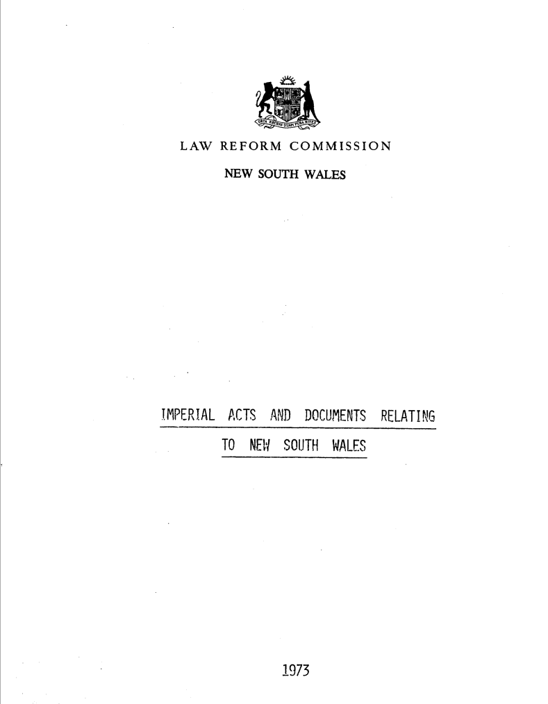 handle is hein.alrc/impactsdc0001 and id is 1 raw text is: LAW REFORM COMMISSION