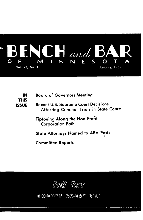 handle is hein.barjournals/benchnbar0022 and id is 1 raw text is: 
