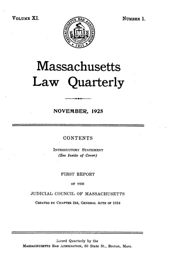 handle is hein.barjournals/malr0011 and id is 1 raw text is: VOLUME XI.