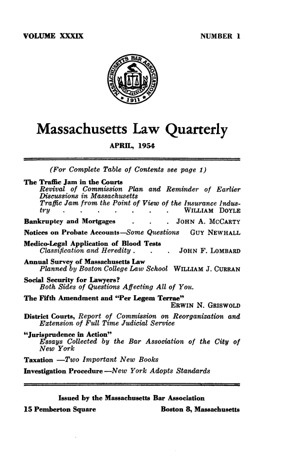 handle is hein.barjournals/malr0039 and id is 1 raw text is: VOLUME XXXIX