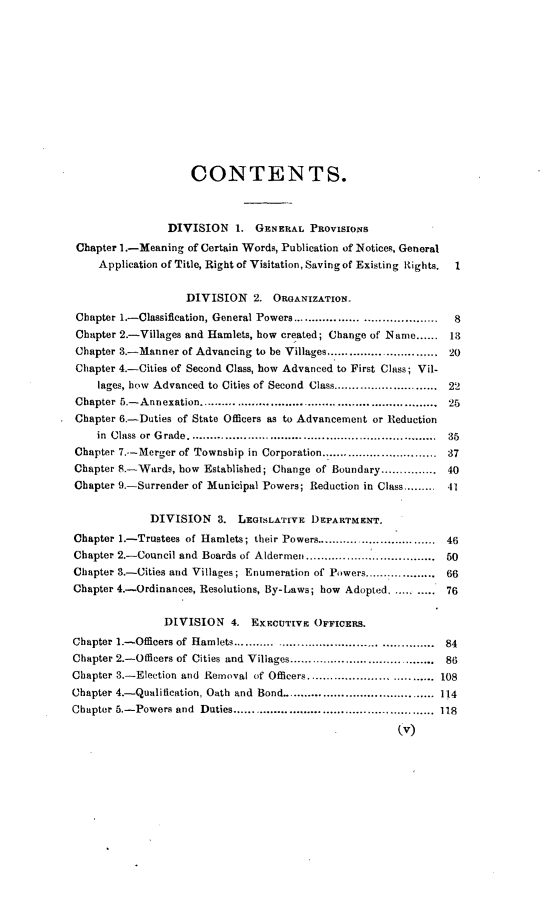 1 Law of Municipal Corporations in the State of Ohio 1892