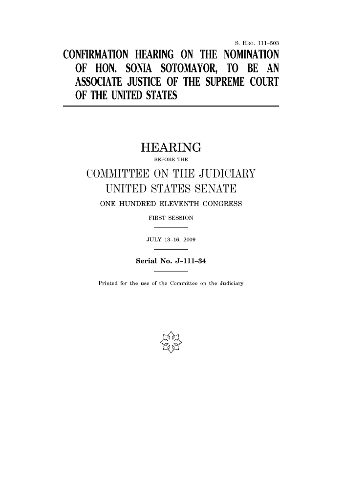 handle is hein.cbhear/cbhearings97127 and id is 1 raw text is: S. HRG. 111-503