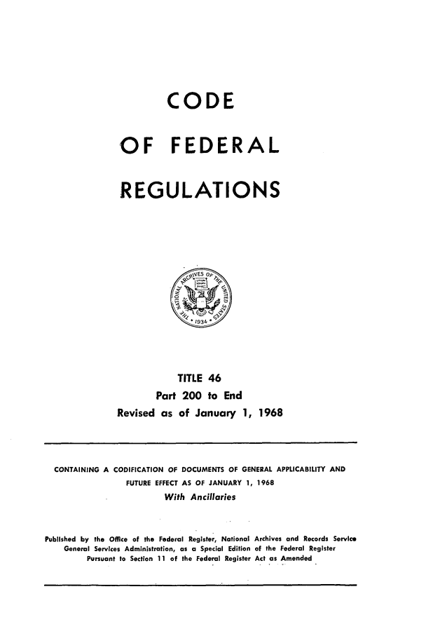 handle is hein.cfr/cfr1968096 and id is 1 raw text is: CODE
