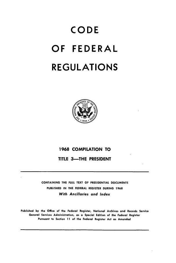 handle is hein.cfr/cfr1968107 and id is 1 raw text is: CODE