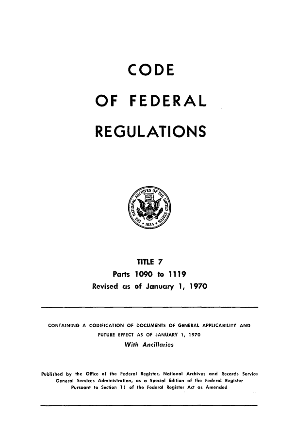 handle is hein.cfr/cfr1970018 and id is 1 raw text is: CODE