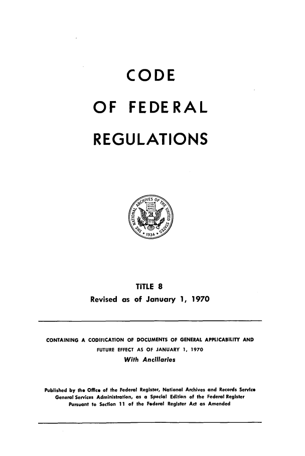 handle is hein.cfr/cfr1970022 and id is 1 raw text is: CODE