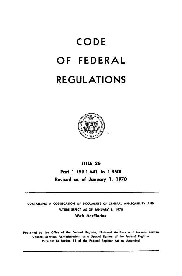 handle is hein.cfr/cfr1970047 and id is 1 raw text is: CODE