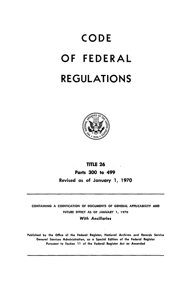handle is hein.cfr/cfr1970054 and id is 1 raw text is: CODE