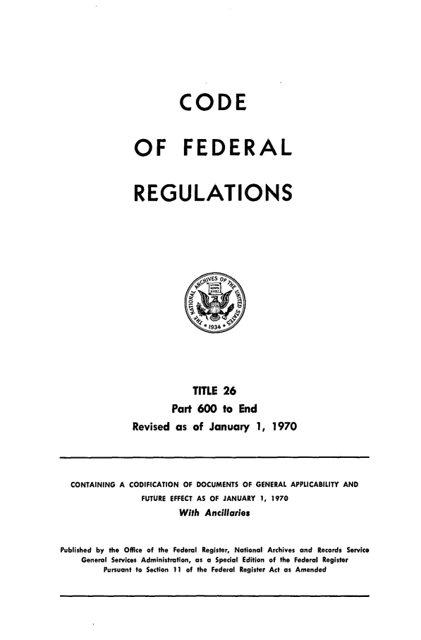 handle is hein.cfr/cfr1970056 and id is 1 raw text is: CODE