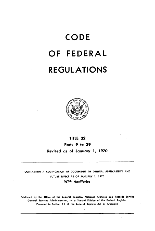 handle is hein.cfr/cfr1970065 and id is 1 raw text is: CODE