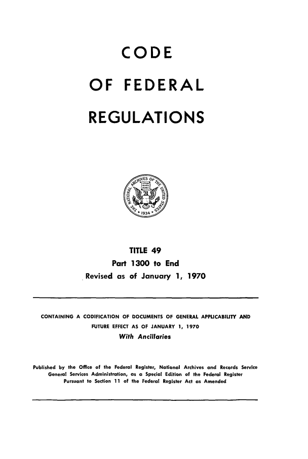 handle is hein.cfr/cfr1970106 and id is 1 raw text is: CODE
