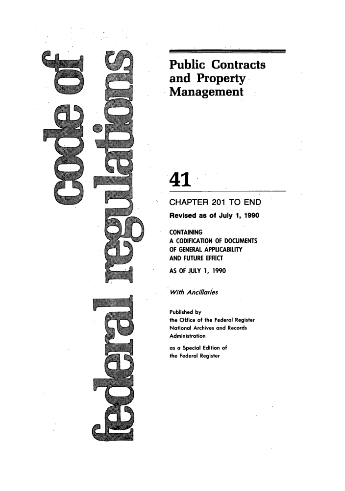 handle is hein.cfr/cfr1990156 and id is 1 raw text is: Public Contracts