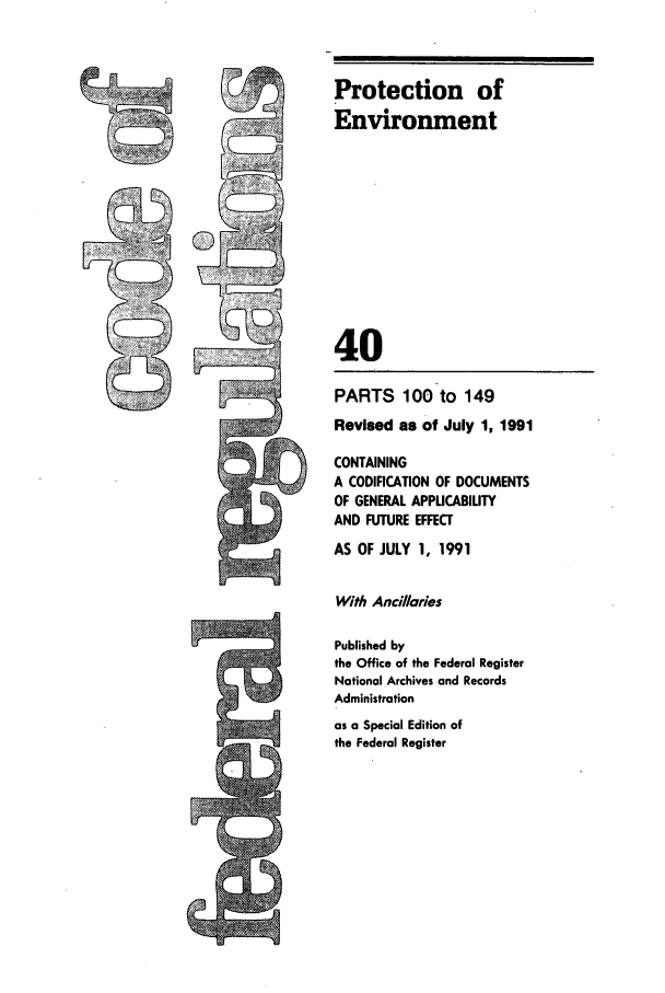 handle is hein.cfr/cfr1991143 and id is 1 raw text is: Protection of