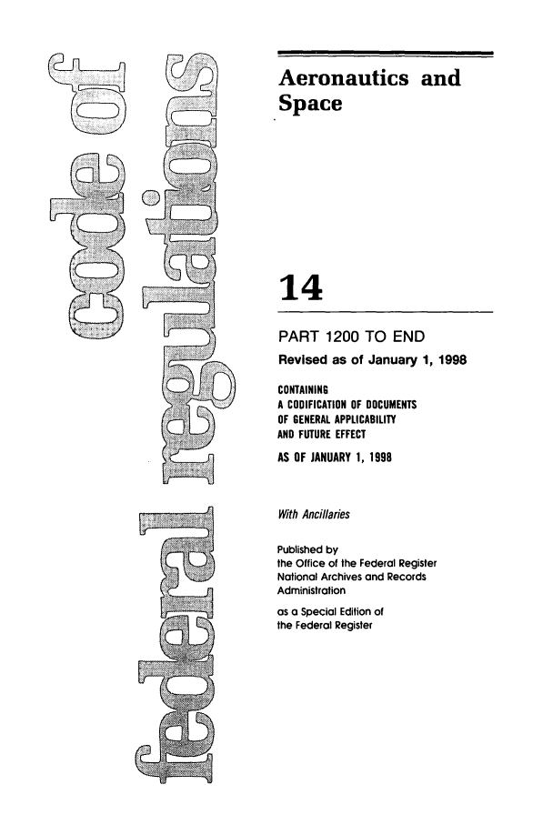 handle is hein.cfr/cfr1998041 and id is 1 raw text is: Aeronautics and