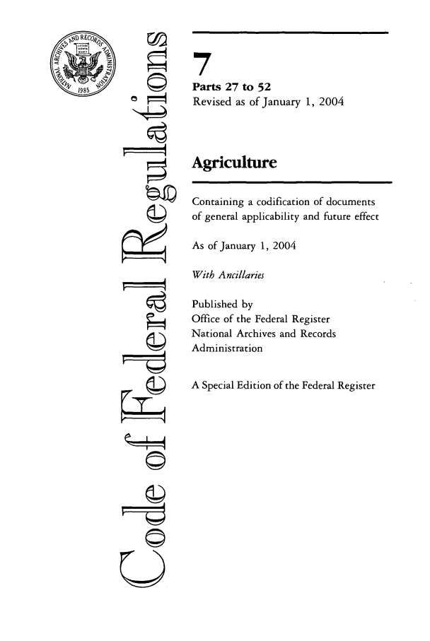handle is hein.cfr/cfr2004009 and id is 1 raw text is: RE