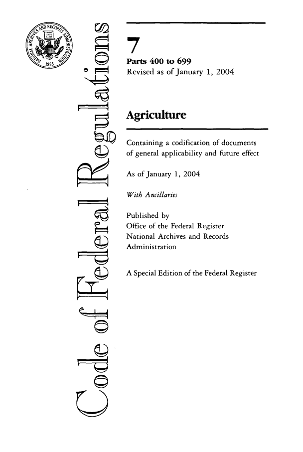 handle is hein.cfr/cfr2004013 and id is 1 raw text is: 1985
