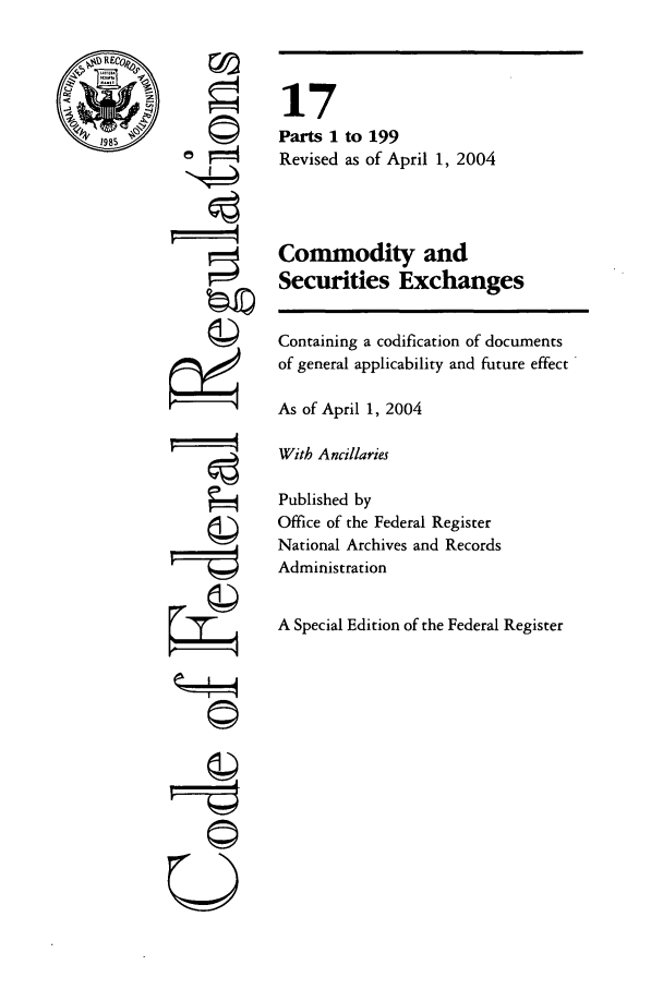 handle is hein.cfr/cfr2004049 and id is 1 raw text is: �I
