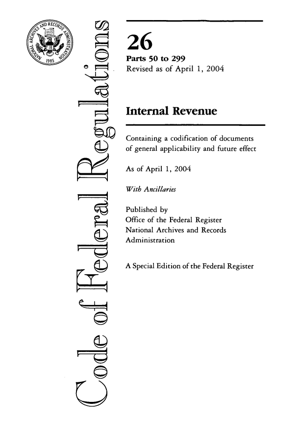 handle is hein.cfr/cfr2004094 and id is 1 raw text is: 1985