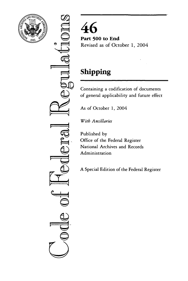 handle is hein.cfr/cfr2004191 and id is 1 raw text is: ,4