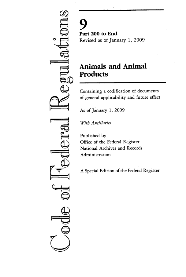handle is hein.cfr/cfr2009026 and id is 1 raw text is: �I