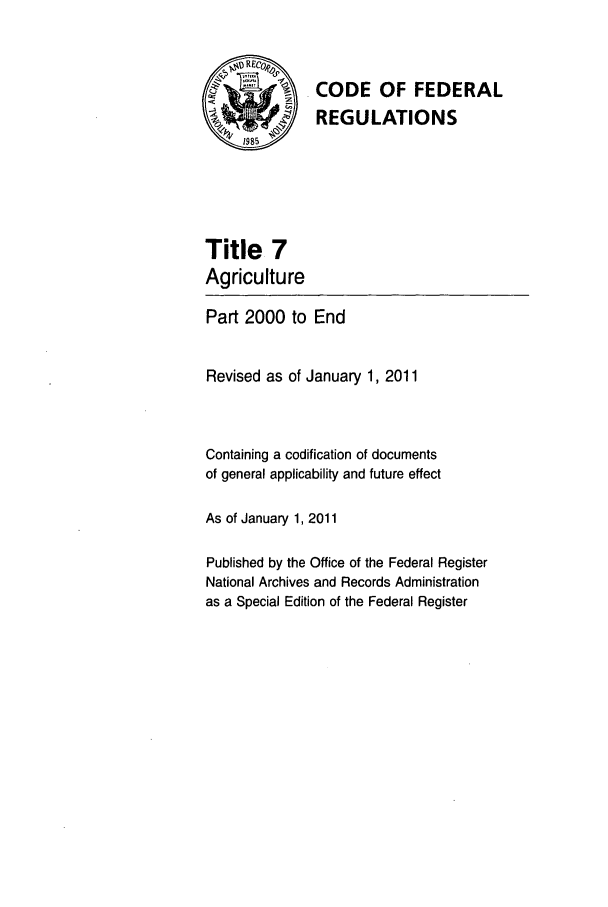 handle is hein.cfr/cfr2011022 and id is 1 raw text is: CODE OF FEDERAL