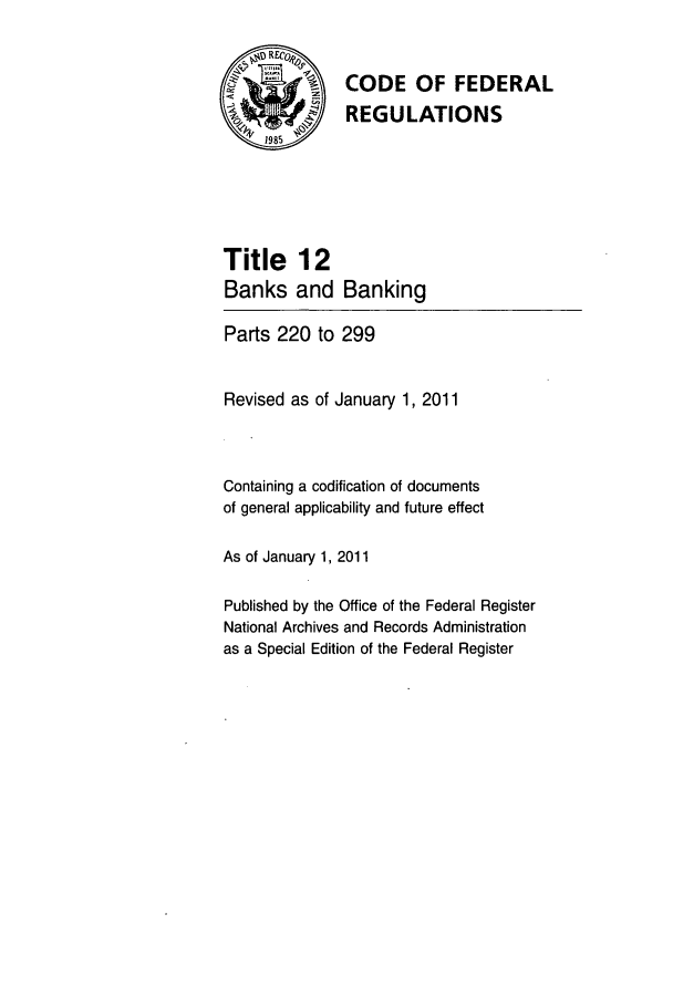 handle is hein.cfr/cfr2011033 and id is 1 raw text is: CODE OF FEDERAL
