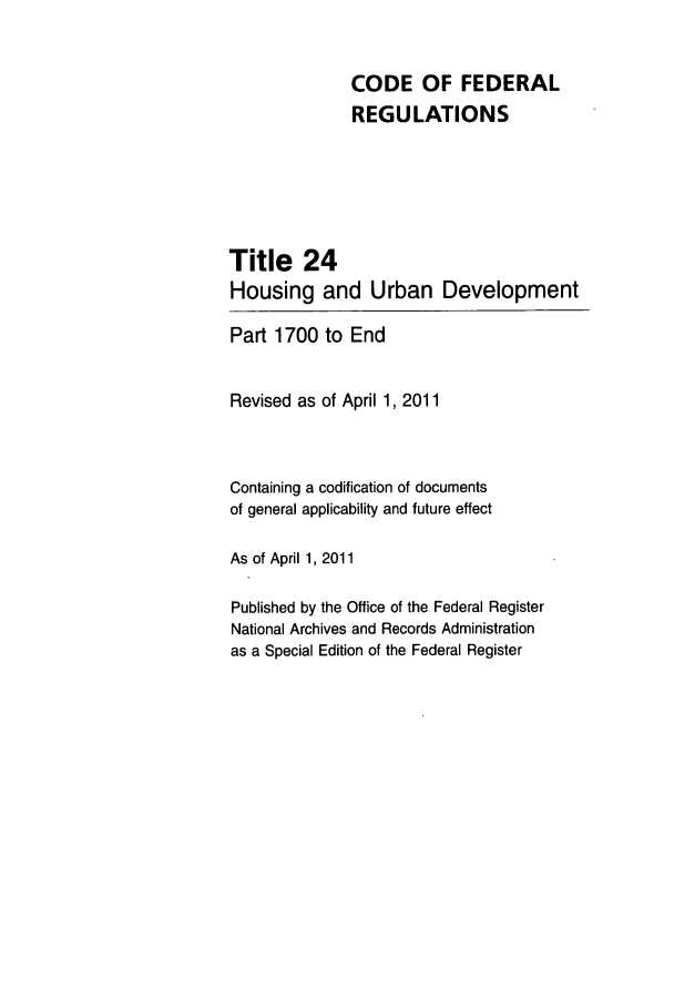 handle is hein.cfr/cfr2011076 and id is 1 raw text is: CODE OF FEDERAL