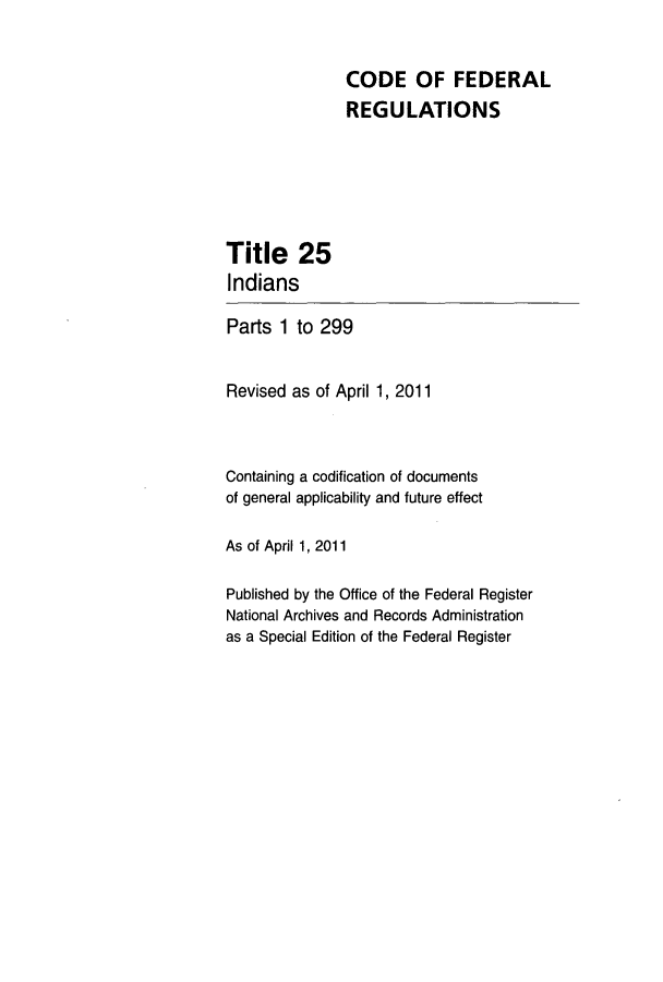 handle is hein.cfr/cfr2011078 and id is 1 raw text is: CODE OF FEDERAL