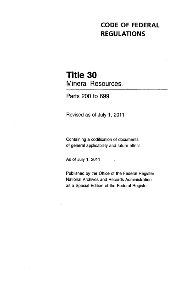 handle is hein.cfr/cfr2011114 and id is 1 raw text is: CODE OF FEDERAL