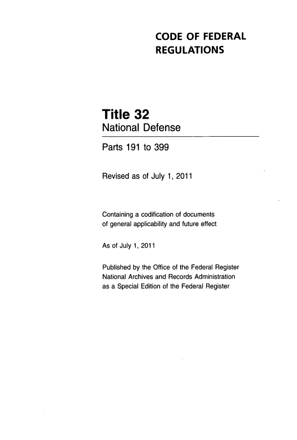 handle is hein.cfr/cfr2011120 and id is 1 raw text is: CODE OF FEDERAL