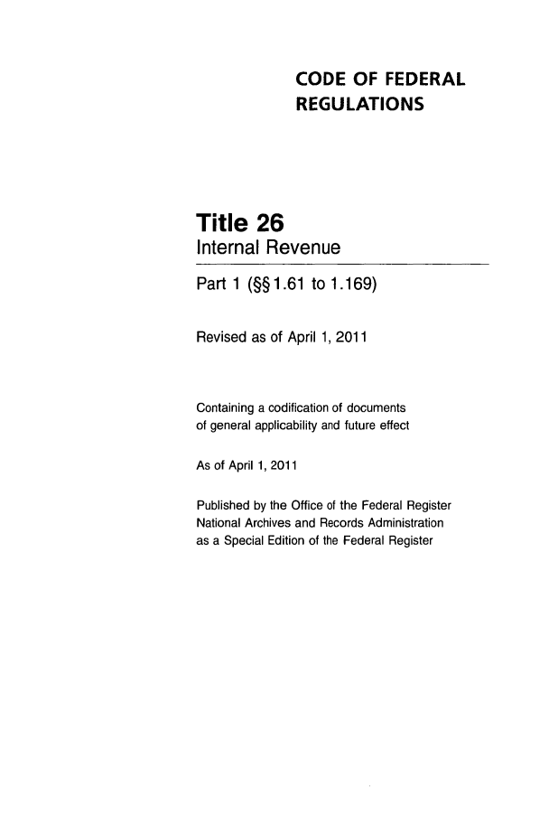 handle is hein.cfr/cfr2011251 and id is 1 raw text is: CODE OF FEDERAL
