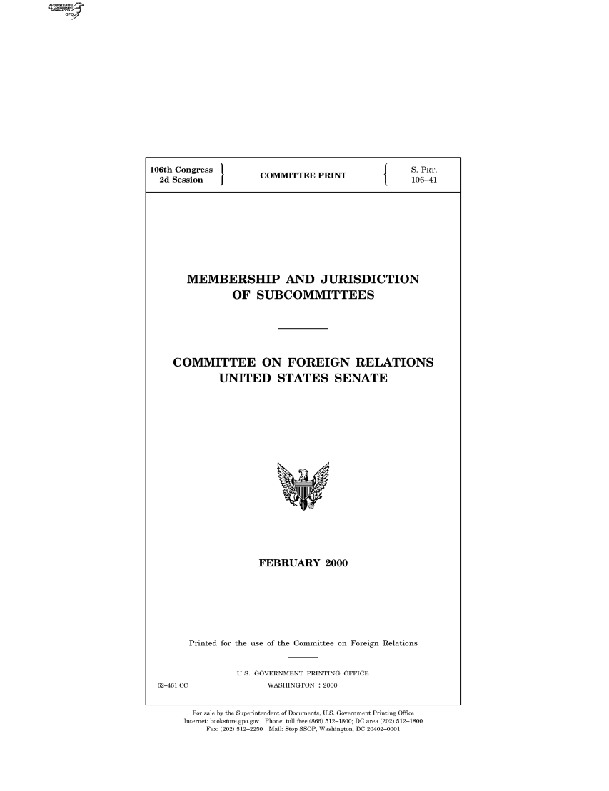 handle is hein.comprint/comprtaady0001 and id is 1 raw text is: 106th Congress  COMMITTEE PRINT  S. PRT.