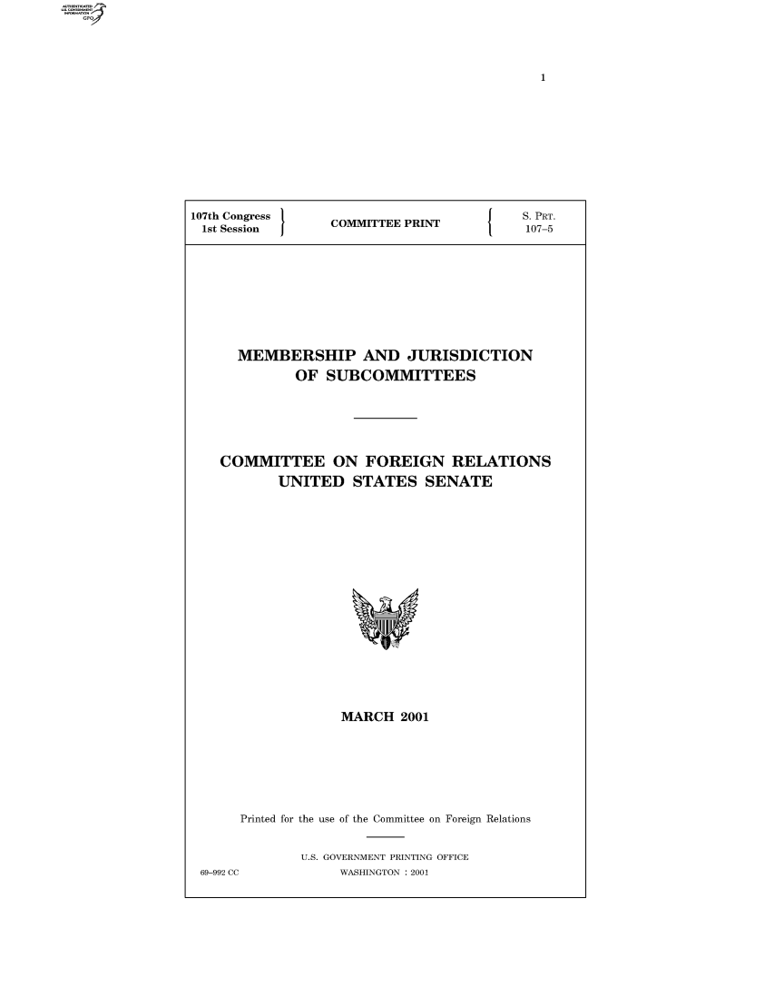 handle is hein.comprint/comprtaagk0001 and id is 1 raw text is: 107th Congress  COMMITTEE PRIN{  S. PRT.