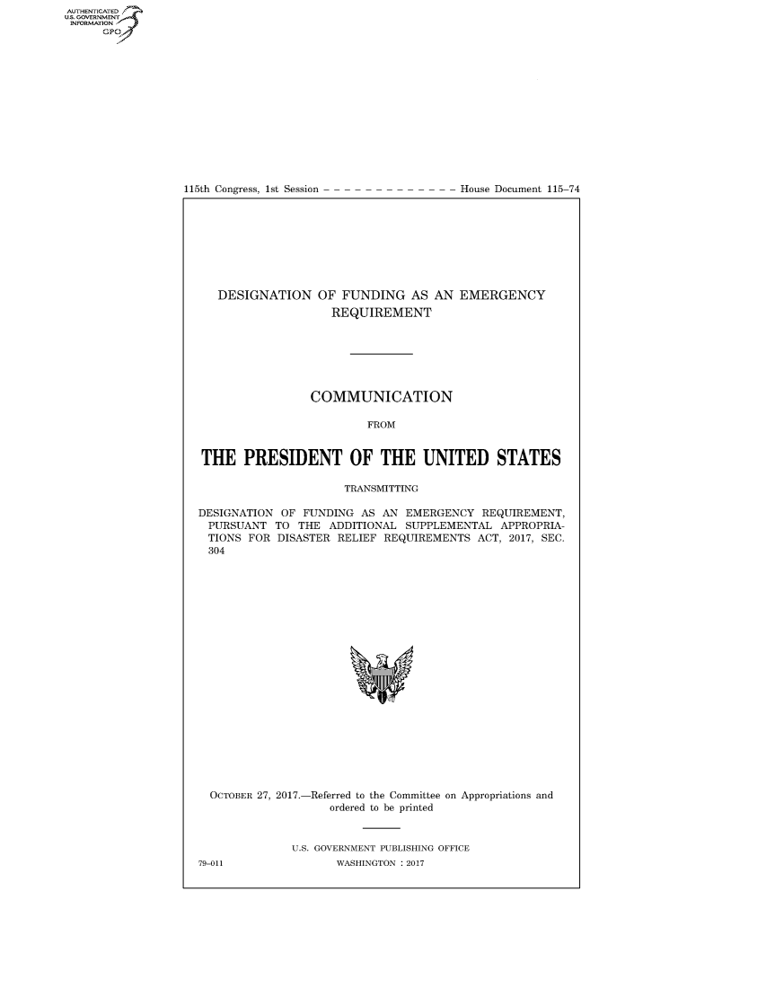 handle is hein.congrecdocs/crptdocsxaach0001 and id is 1 raw text is: AUTHENTICATEO