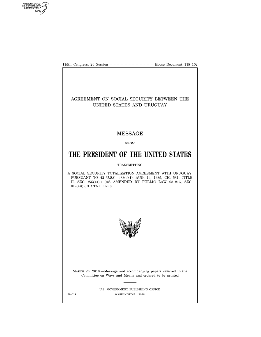 handle is hein.congrecdocs/crptdocsxaade0001 and id is 1 raw text is: AUTHENTICATEO
