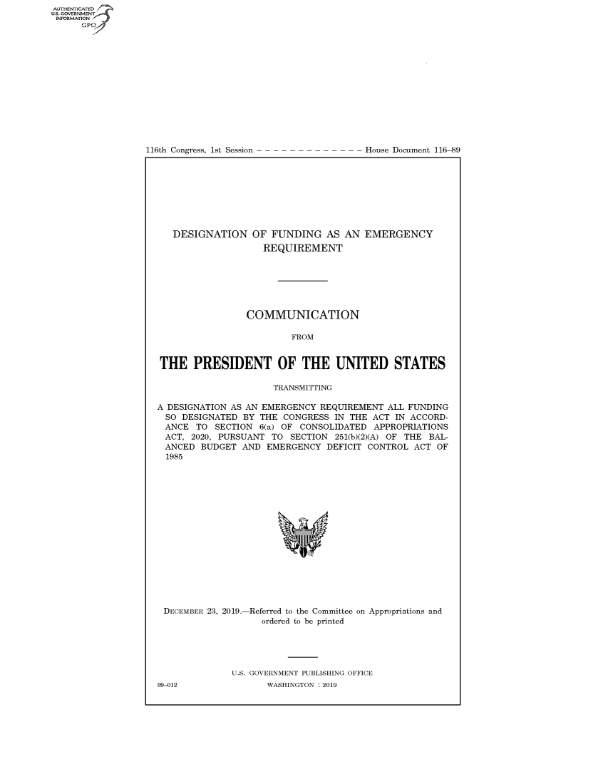 handle is hein.congrecdocs/crptdocsxaaix0001 and id is 1 raw text is: 