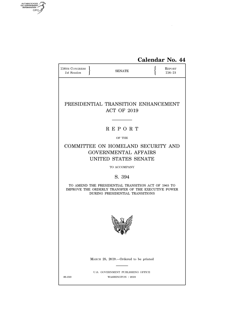 handle is hein.congrecreports/crptxacgv0001 and id is 1 raw text is: AUTHENTICATEO