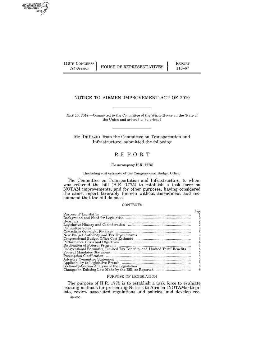handle is hein.congrecreports/crptxacjb0001 and id is 1 raw text is: AUTHENTICATEO