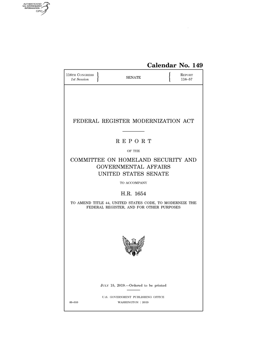 handle is hein.congrecreports/crptxacog0001 and id is 1 raw text is: AUTHENTICATEO