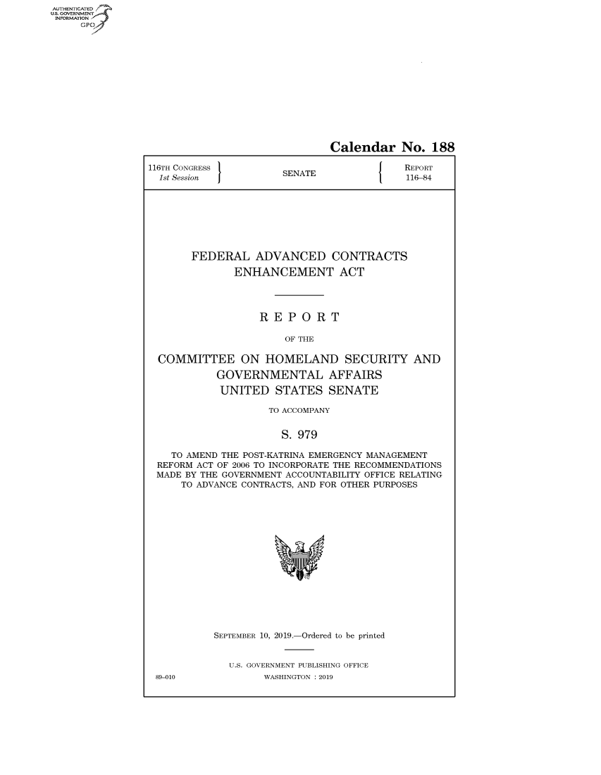 handle is hein.congrecreports/crptxacsk0001 and id is 1 raw text is: AUTHENTICATEO