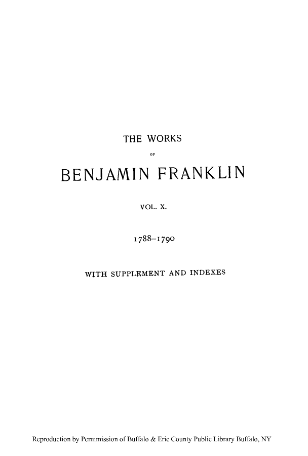 handle is hein.cow/cowobenfr0010 and id is 1 raw text is: THE WORKS