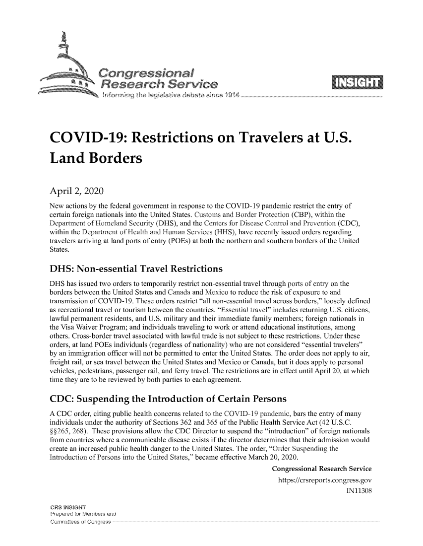 handle is hein.crs/govctzu0001 and id is 1 raw text is: 