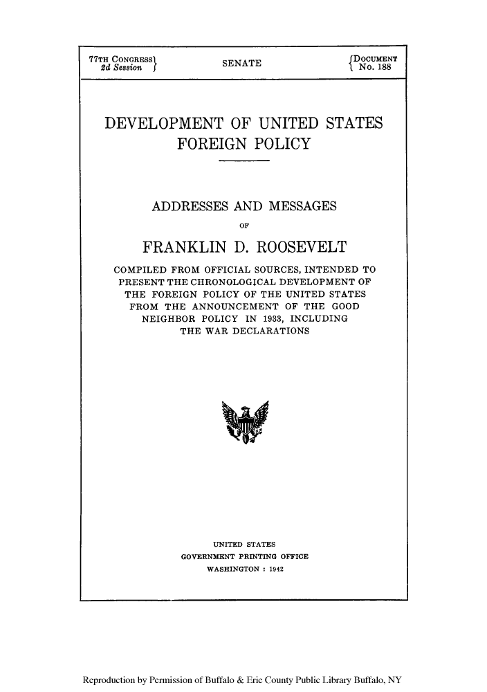 handle is hein.forrel/devusp0001 and id is 1 raw text is: 77TH CONGRESS>      SENATE             DOCUMENT