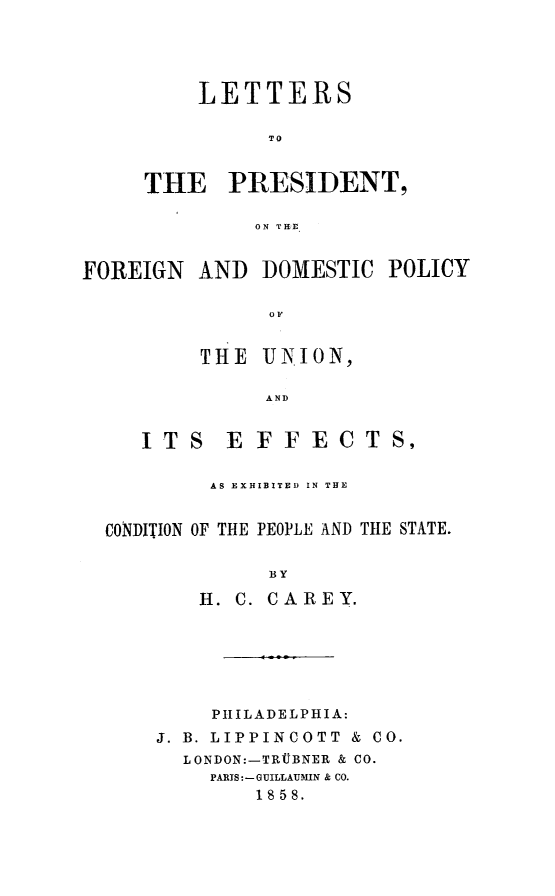 handle is hein.forrel/ltrpres0001 and id is 1 raw text is: LETTERS