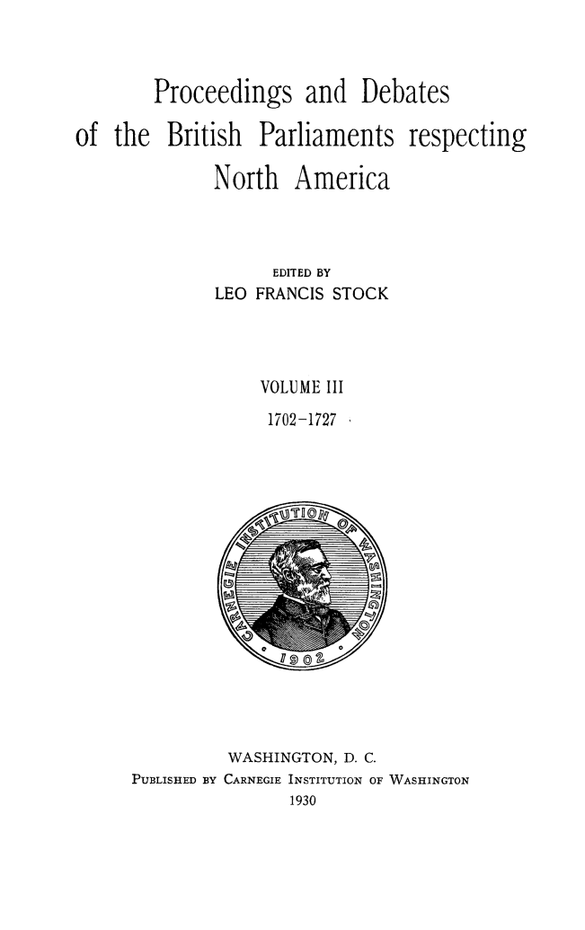 handle is hein.forrel/prdbbrpar0003 and id is 1 raw text is: Proceedings and Debates