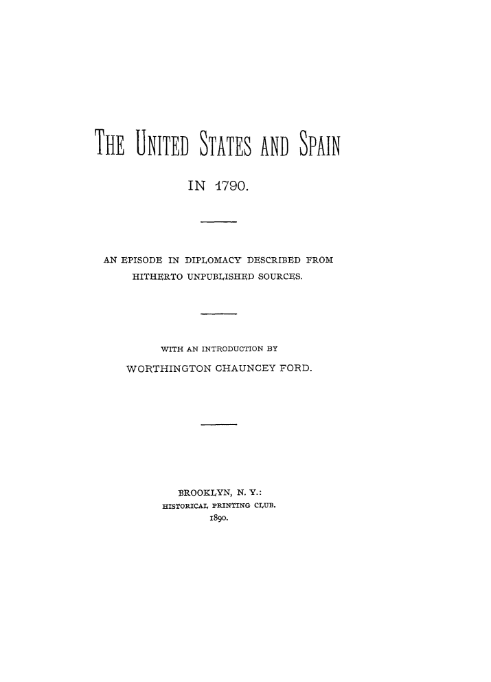 handle is hein.forrel/uspain0001 and id is 1 raw text is: 