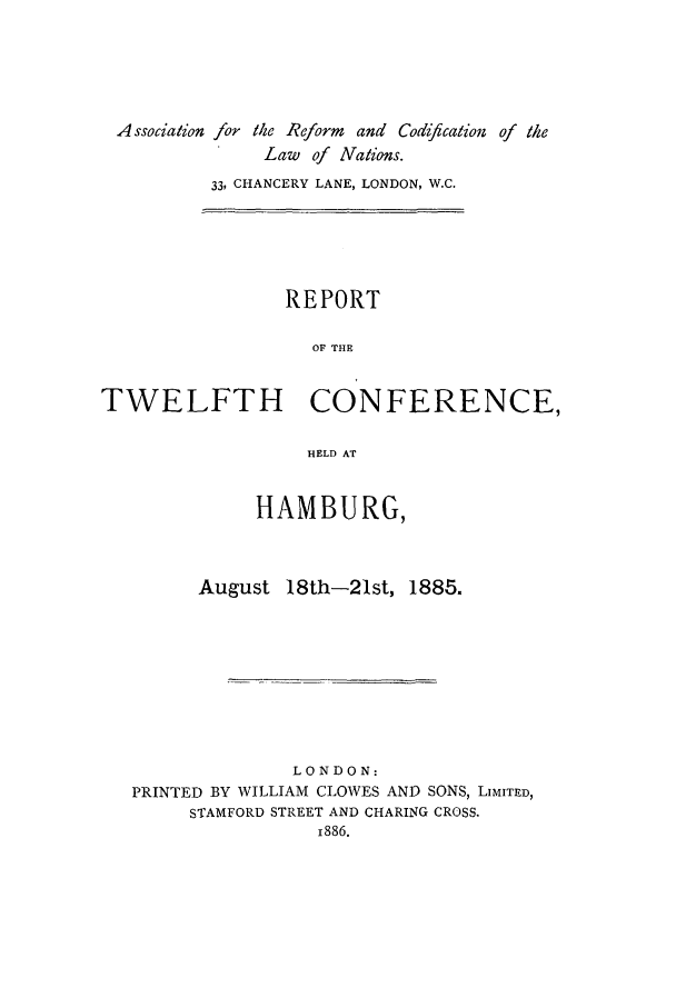 handle is hein.ilarc/ilarc1885 and id is 1 raw text is: A ssocialion